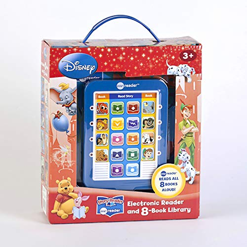 Disney Classic Me Reader Electronic Reader and 8-Book Library 3 Inch