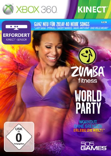 Zumba Fitness World Party (Kinect) - [Xbox 360] (Zumba Für Kinect)