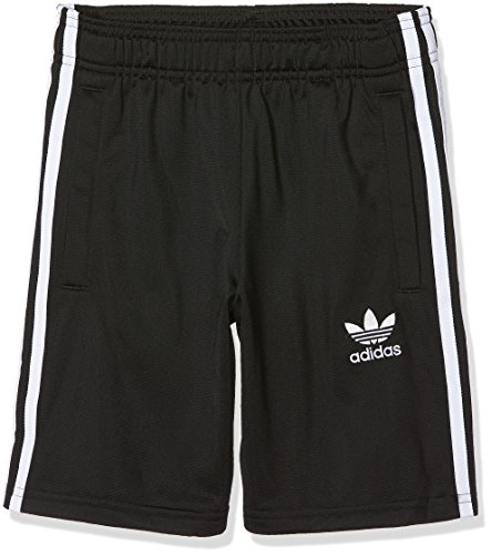 adidas Kinder J BB Shorts, Black/White, 140