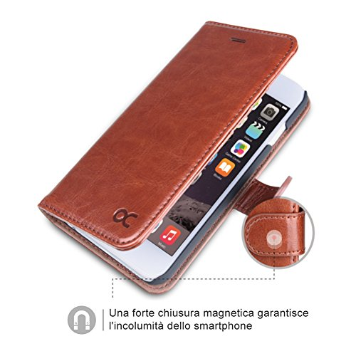 custodia iphone 6 marrone