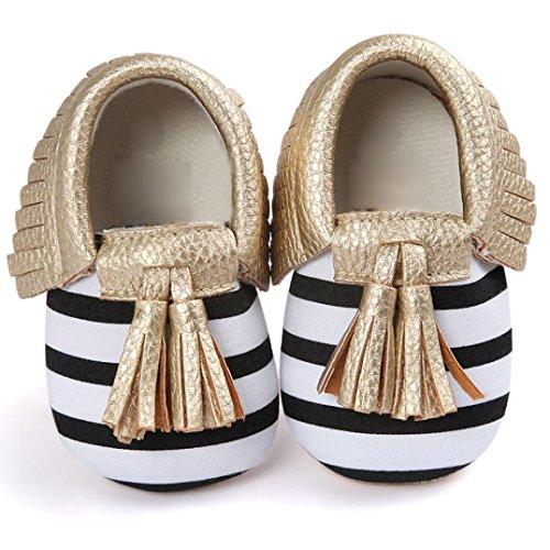Clode® Baby Girl Kleinkind Turnschuhe Freizeitschuhe Quasten Weiche Alleinigen Schuhe Prinzessin Schuhe Gold