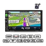REAKOSOUND autoradio 2 din bluetooth 7 pollici Stereo Touch Screen GPS Navigazione supporto Radio AM/FM/RDS/USB/AUX Telecomando