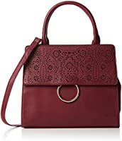 Bulaggi Damen Murielle Satchel 30189 Tornistertasche, Red (Burgundy), One Size