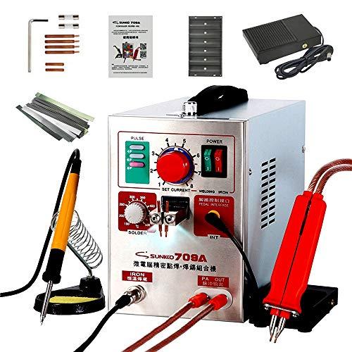 Wenhu 709A Punktschweißgerät Impulsschweißgerät von Kw für Lithium-Batterie-Schweißgerät mit Remote Lötstift