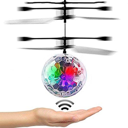 DMbaby Geschenke für Teen Mädchen, Flying Ball Hubschrauber Spielzeug für 3-12 Jahre alte Jungen Mädchen Spielzeug für Kinder Mütter Tag Geschenke Multicolor DFQ06 (3'9)
