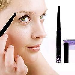 9th Avenue 3: Lowest Wholesale New 5 Colors Long Lasting Eyebrow Pencil Eye Brow Pen Black Brown Dark Brown Gray Coffee makeup