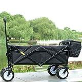 Ali Lamps@ Carrello per i bagagli da campeggio di colore puro per le giornate estive del carrello a mano / Carrello per i bagagli da campeggio per la pesca / carrello per la spesa da quattro persone / carico di 70 kg