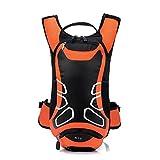 Streuwagen Anself wasserdicht Fahrrad-Rucksack Ultralight, Sport, Outdoor, Radfahren, für Bergsteigen Camping Feuchtigkeit, Wasser, Orange orange