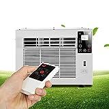 1300btu Fenster Klimaanlage, Mini Wandklimaanlage Mit Led-Touch-Display, One Button Entfeuchtung, Beleuchtung Und USB-Aufladung