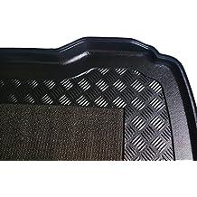 Rezaw - Plast 102122M Alfombrillas para maletero , Cubeta para maletero (Borde de protección de 5 cm, antideslizante, ligera y flexible)