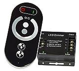 Dimmer | Funkfernbedienung für einfarbige LED Streifen | 12-24V | max 18A