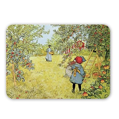 the-apple-harvest-by-carl-larsson-mouse-mat-art247-highest-quality-natural-rubber-mouse-mats-mouse-m