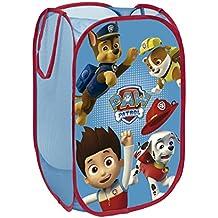 Arditex PW9248 Cesta pongotodo guarda juguetes, diseño Paw Patrol La Patrulla Canina