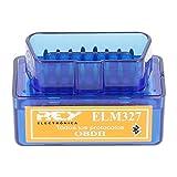 Electrónica Rey Mini ELM327 Interfaz V2.1 Bluetooth OBD-II OBD2, Máquina de Diagnosis para el Coche
