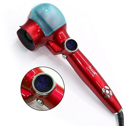PowerLead Curly Lockendreher Haar Curler Dampf Haar, mit LCD, Temperatur Verstellbar, wunderschöne und fließende Locken zaubert