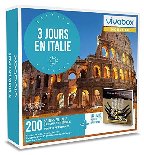 Vivabox - Coffret cadeau romantique - 3 JOURS EN ITALIE - 200 week-ends + 1 livre de...