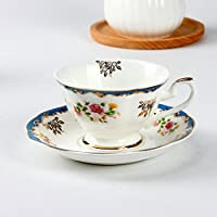 Creative British red bone China Teacup/ Tea