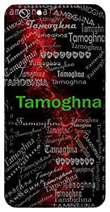 Tamoghna (Lord Vishnu; Lord Shiva) Name & Sign Printed All over customize & Personalized!! Protective back cover for your Smart Phone : HTC Desire 820