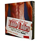 Essbare Unterwäsche männliche Schokolade