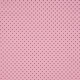 Baumwollpopeline: kleine Pünktchen - altrosa auf rosa