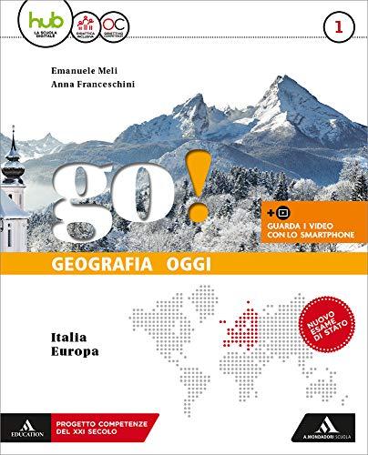 Go! Per la Scuola media. Con e-book. Con espansione online. Con 2 libri: Regioni-Atlante: 1