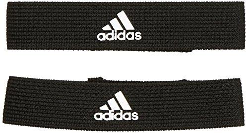 adidas Unisex Stutzenhalter, Black/Wht, One Size, 620656 (Bleiben Mode-band)