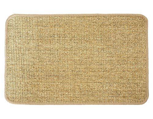 Primaflor - Ideen in Textil Katzen-Kratzmatte Katzenteppich - Nuss 1,00m x 2,00m, 100% Sisal, Rutschhemmend - Sisal-Matte, Geeignet für Fußbodenheizung, Sisalteppich für Wand & Boden