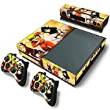 #3: Elton Ninja Team Naruto Uzumaki Theme Skin Sticker Cover for Xbox One Console, Kinect & Controllers