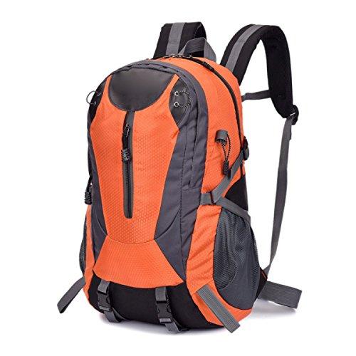 Sacchetto Di Spalla Esterno Di Modo Di Arrampicata Borsa Di Viaggio Multifunzionale Respirabile Impermeabile,Red Orange