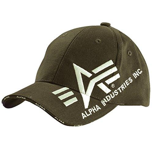 Alpha Industries -  Cappellino da baseball  - Basic - Uomo verde Taglia unica