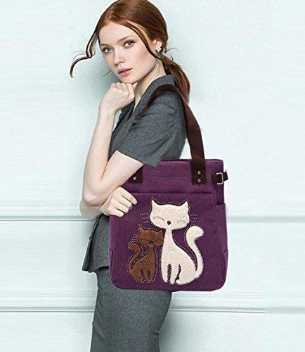 sulandy , Cabas pour femme violet