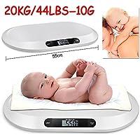 Tinkertonk Pèse bébé électronique et antidérapant avec affichage digital précis–20kg–10g
