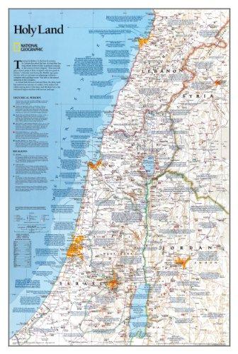 Holy Land: 1:405000 -