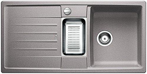Preisvergleich Produktbild Blanco Lexa 6 S Küchenspüle, Silgranit PuraDur, alumetallic, 514669