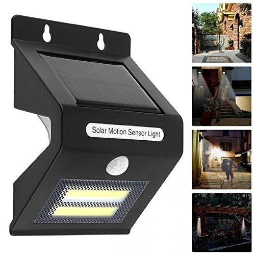 Global 5W Solar Power COB LED PIR Motion Sensor Aplique