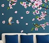 JBHURF Récompenses célestes Calligraphie Et Peinture Stickers Muraux Autocollants Salon Mur Fond Décorations Murales TV Papier Peint Papier Peint Auto-adhésif (Couleur : 6)