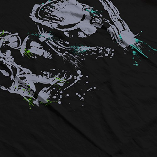 Alien Vs Predator Paint Splatter Men's Vest Black