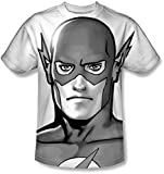 Justice League, The - Herren-Bw Blitzkopf-T-Shirt, XX-Large, White