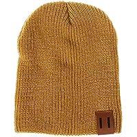 e52f81f80547 AiBarle Headwear Knit Cap – épais, Doux et Chaud Bonnet Grosse Queue  Chapeaux pour Homme