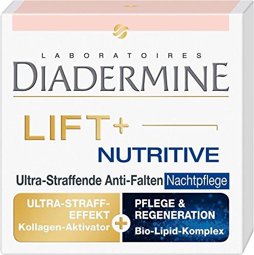 Diadermine Lift+ Nutritive Anti-Falten Nachtpflege, 2er Pack