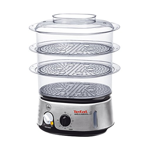 tefal-simply-invents-food-steamer-vc101616-three-tier-9-l-capacity-black-and-chrome