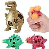 Vovotrade Dinosaurus Stress Relief geurende Super Slow Rise kinderen speelgoed Anti-Stress-Ball Grape Bal schattig dier speelgoed dinosaurus Squeeze voor kinderen Beste Cadeau (Mehrfarbig)