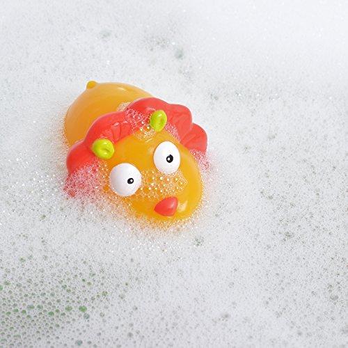 Knorrtoys 37001 – ESCABBO Bademattenset Dschungelsafari mit Badewannenspritzfiguren - 4