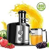 Aigostar MyFrappe Black 30IMX - 850W Licuadora semiprofesional para frutas y verduras con dos...