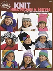 Knit hats, mittens & scarves [Pamphlet] by Edie Eckman
