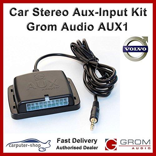 Grom Audio AUX1AUX-Eingang AUX Adapter Interface Kit für 01+ Volvo S40V40V70XC70S60S70S80mit HU Radio