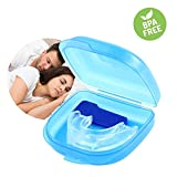 AOLVO Anti Snore Mouthpiece, Mouth Guards for Teeth Grinding Anti Snoring Devices Aid Custom Fit Snore Solution & Reducing & Stopper for Bruxism/Comfortable Night Sleep