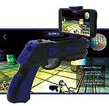 Pistolet réalité augmentée AR-Gun® possibilité je joue à paire app propre avec une grande variété de jeux pistolet ar gun augmented reality gun estimée pour tous les iphone et android bleu