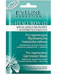 EVELINE Cosmetics Bio Hyaluron Set of 3 Pro Regenerating Instant Gel Masks 3 x 7ml All Skin Types