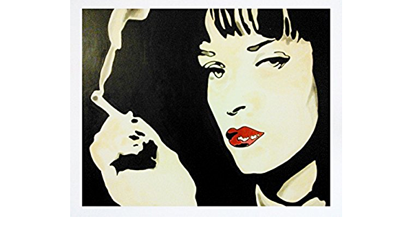 vari formati Banksy Pulp Fiction Quadro in tela con telaio